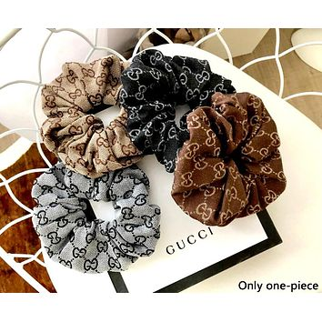 Free shipping-GUCCI tide brand female models wild personality woven flower hair ring