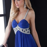Sexy Prom Dresses Sheath Spaghetti Straps Floor Length Chiffon Style 4549 ,Perfect Prom Dresses