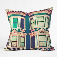 Shannon Clark Dollhouse Throw Pillow