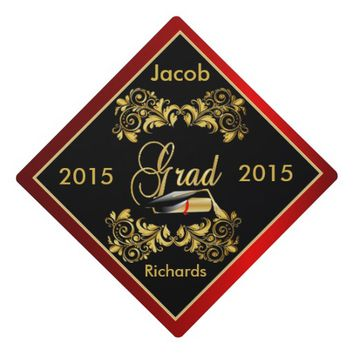 Graduate | Diy Year | Personalize Graduation Cap Toppers