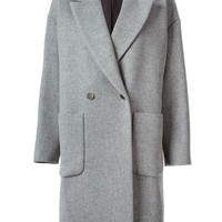 MSGM oversized double breasted coat