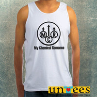My Chemical Romance Logo Clothing Tank Top For Mens