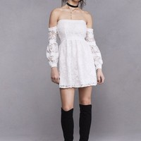 JOLENE OFF-SHOULDER DRESS