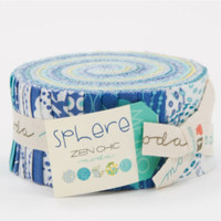 Sphere Jelly Roll by Zen Chic for Moda Fabrics