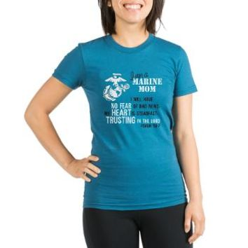 Marine Mom Psalm 112 T-Shirt> Marine Mom Psalm 112> Marine and Military Store