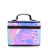 Metallic Vanity Case - Lilac