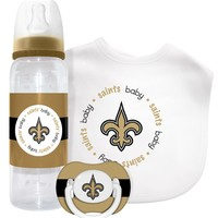 Baby Fanatic New Orleans Saints Nfl Baby Gift Set