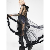 Lady Luxxx Feather Robe