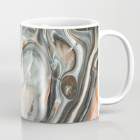 Copper and Stone Coffee Mug by DuckyB