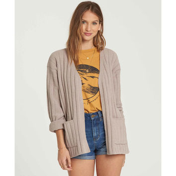 JUST RELAX CHENILLE CARDIGAN