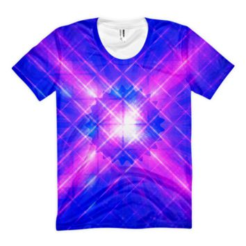 Windows Infinity || Women's sublimation t-shirt — Future Life Fashion