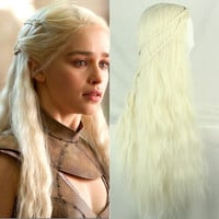 28 inches Curls Daenerys Targaryen Cosplay Wig