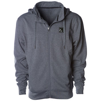 Tilt Zip Tech Jacket Gunmetal Heather
