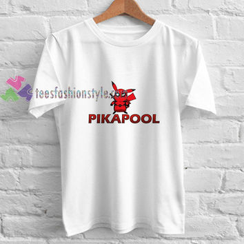 Pikapool t shirt gift tees unisex adult cool tee shirts buy cheap