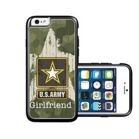 RCGrafix Brand Us Army Girlfriend Camo iPhone 6 Case - Fits NEW Apple iPhone 6