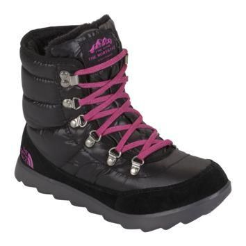 WOMENS THE NORTH FACE THERMOBALL LACE BOOTS