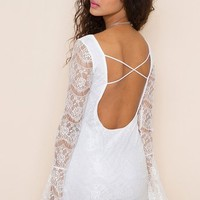 Isabella Lace Dress in Clothes at Nasty Gal