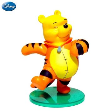 16cm Disney Winnie The Pooh Action Figure Tigger Doll Birthday Present Children Toy Limited Collection New Arrival High Quality