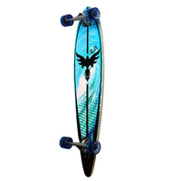 Punked Pintail Tsunami Longboard Complete