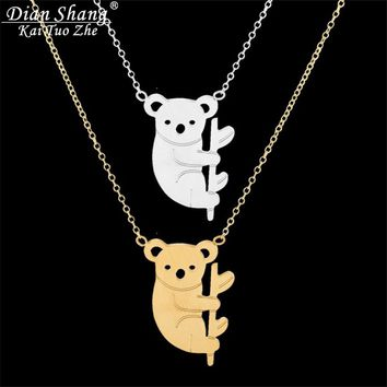 Climb Koala Choker Necklace
