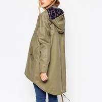 ASOS Parka In Oversized Fit