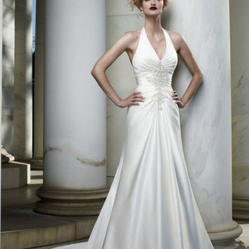 Casablanca Bridal 2060 Halter Wedding Dress