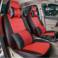 Full set seat cover for lexus lx570/lx470 accessories for car seats custom fit pu leather car seat covers black car seat cushion