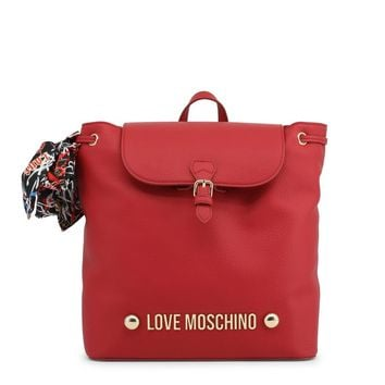 Love Moschino Women's Backpack Candy Red.