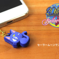 Strapya World : Sailor Moon Character Earphone Jack Accessory (The Transformation Brooch)