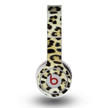 The Real Leopard Hide V3 Skin for the Original Beats by Dre Wireless Headphones