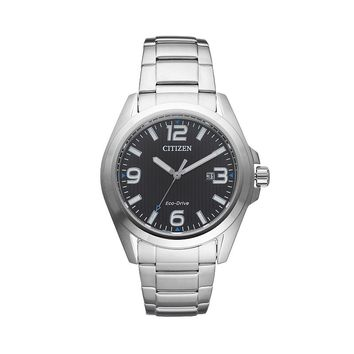 Citizen Eco-Drive Men's Sport Stainless Steel Watch - AW1430-86E (Grey)