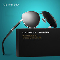 VEITHDIA Aluminum Magnesium Men's Sunglasses Polarized Sun Glasses Male Driving Fishing Outdoor Eyewears Accessories Men 6695