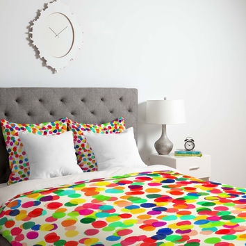 Rebecca Allen A Celebration 1 Duvet Cover