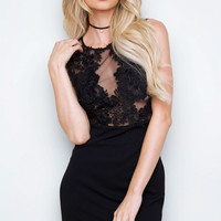 Ismay Lace Mini Dress