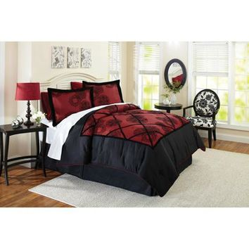 Better Homes and Gardens Comforter Set Collection, Amaryllis - Walmart.com