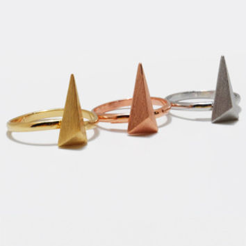 Isosceles triangle Ring