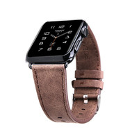 Apple Watch Band Brand California Cowboy Style Leather band Replacement Strap 38mm/42mm
