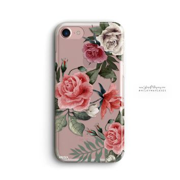 Petals iPhone & Samsung Clear Cellphone Case