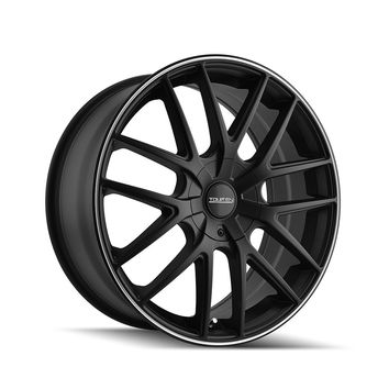 Touren TR60 16 Black Wheel / Rim 5x100 & 5x4.5 with a 42mm Offset and a 72.62 Hub Bore.