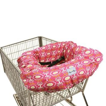 Itzy Ritzy® Sitzy Shopping Cart and High Chair Cover in Damask