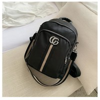 Cheap Gucci Bag Women's Leather Fashion Tote Backpack Bag