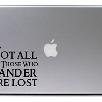 Lord of the Rings Decal / Macbook Decal / Macbook Sticker / Laptop Decal / Laptop Sticker / Lord of the Rings