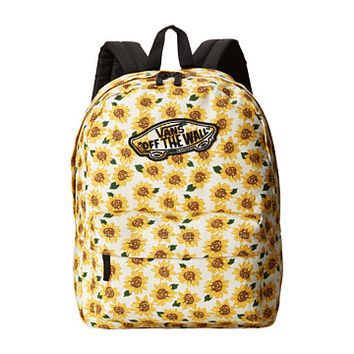 e4bb82e2f5 Vans Realm Backpack Sunflower(True White) - Zappos.com Free Shipping BOTH  Ways