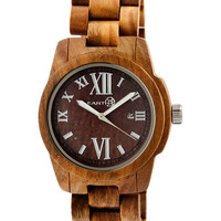 Earth Men's Heartwood Brown Dial Watch, 43mm - Brown
