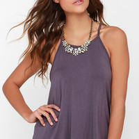 Munificent Gift Dusty Purple Tank Top