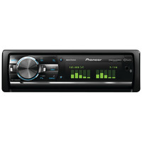 Pioneer Single-din In-dash Cd Receiver With Usb Ipod Rgb Bluetooth Hd Radio Siriusxm Ready & Mixtrax