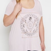 Plus Zodiac Wheel Sharkbite Tee | Plus Graphic Tees | rue21