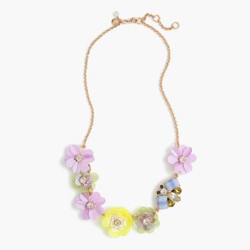 Girls' Multiflower Necklace : Girls' Jewelry | J.Crew