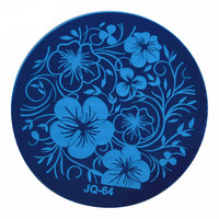 1 PC Fashion Style Nail Art Stamp Stamping Plates Manicure Template,