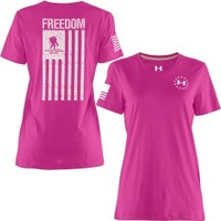 Under Armour Women's WWP Freedom Flag T-Shirt - Dick's Sporting Goods